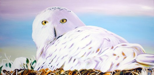 Serena de Gier, Hatching (La cova), 2013. Acrylic on canvas, 50 x 100, private collection http://www.serenadegier.com/Serena_de_Gier/Welcome.html